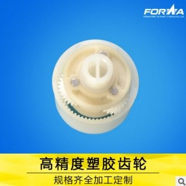 POM  plastic gears reduction gearbox use for electronics clock plastic injection molded parts